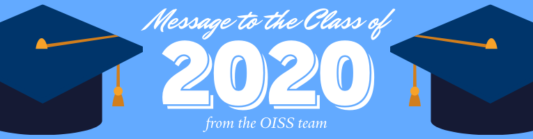 Click for a message to the Class of 2020