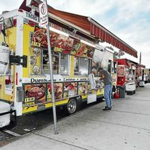 Register for A Walk to Food Truck Paradise in Long Wharf