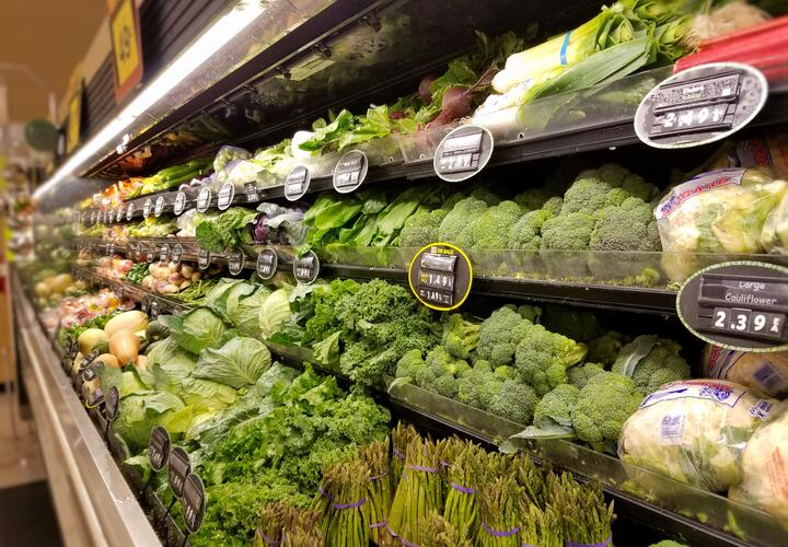 Grocery store produce