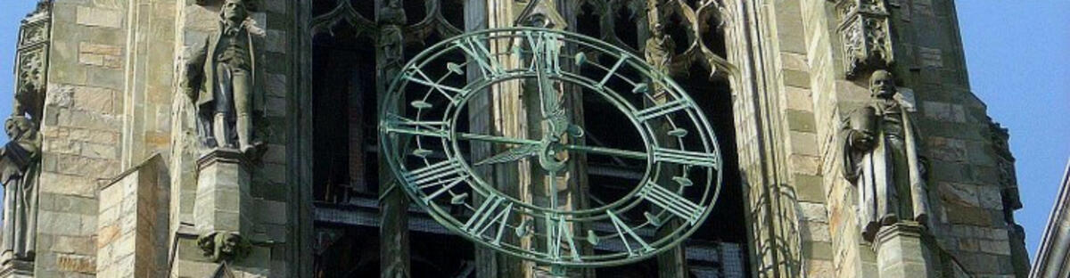 Harkness Clock tower