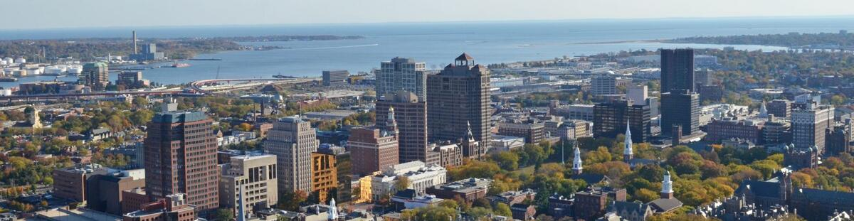 New Haven aerial