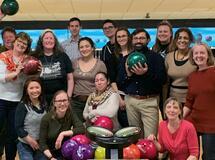 OISS Staff Bowling