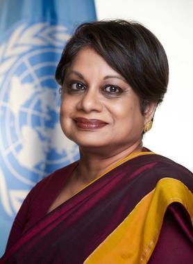 Portrait of Radhika Coomaraswamy
